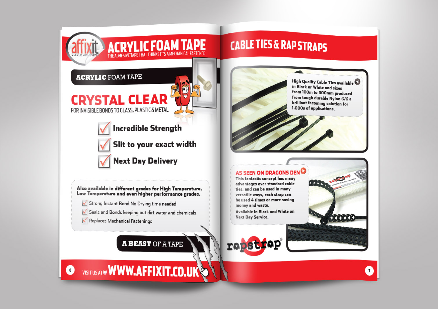 Affixit Buyer Guide Inside Pages 6 and 7