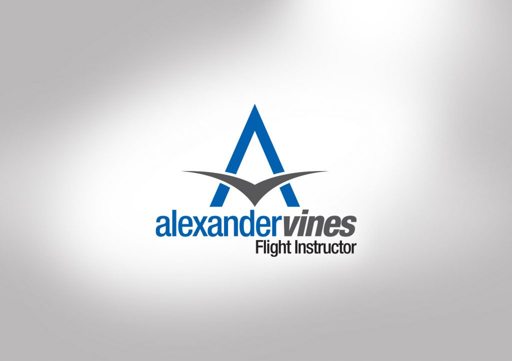 Alexander Vines Flight Instructor Logo
