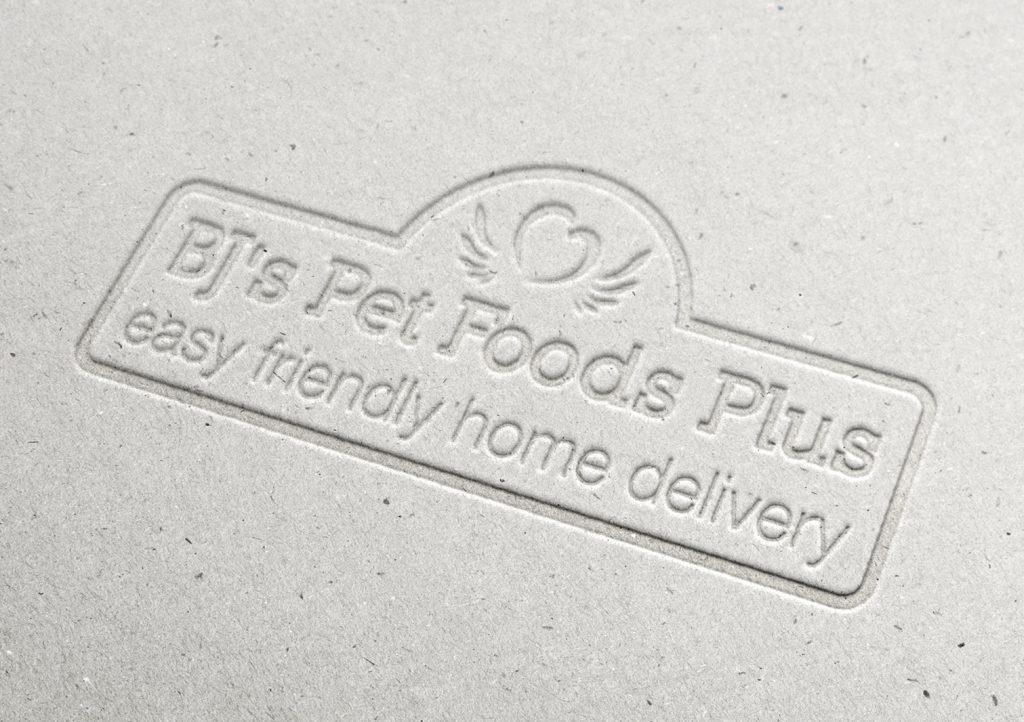 BJ's Pet Foods Plus Logo