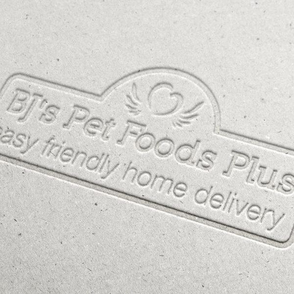 BJ's Pet Foods Plus Logo