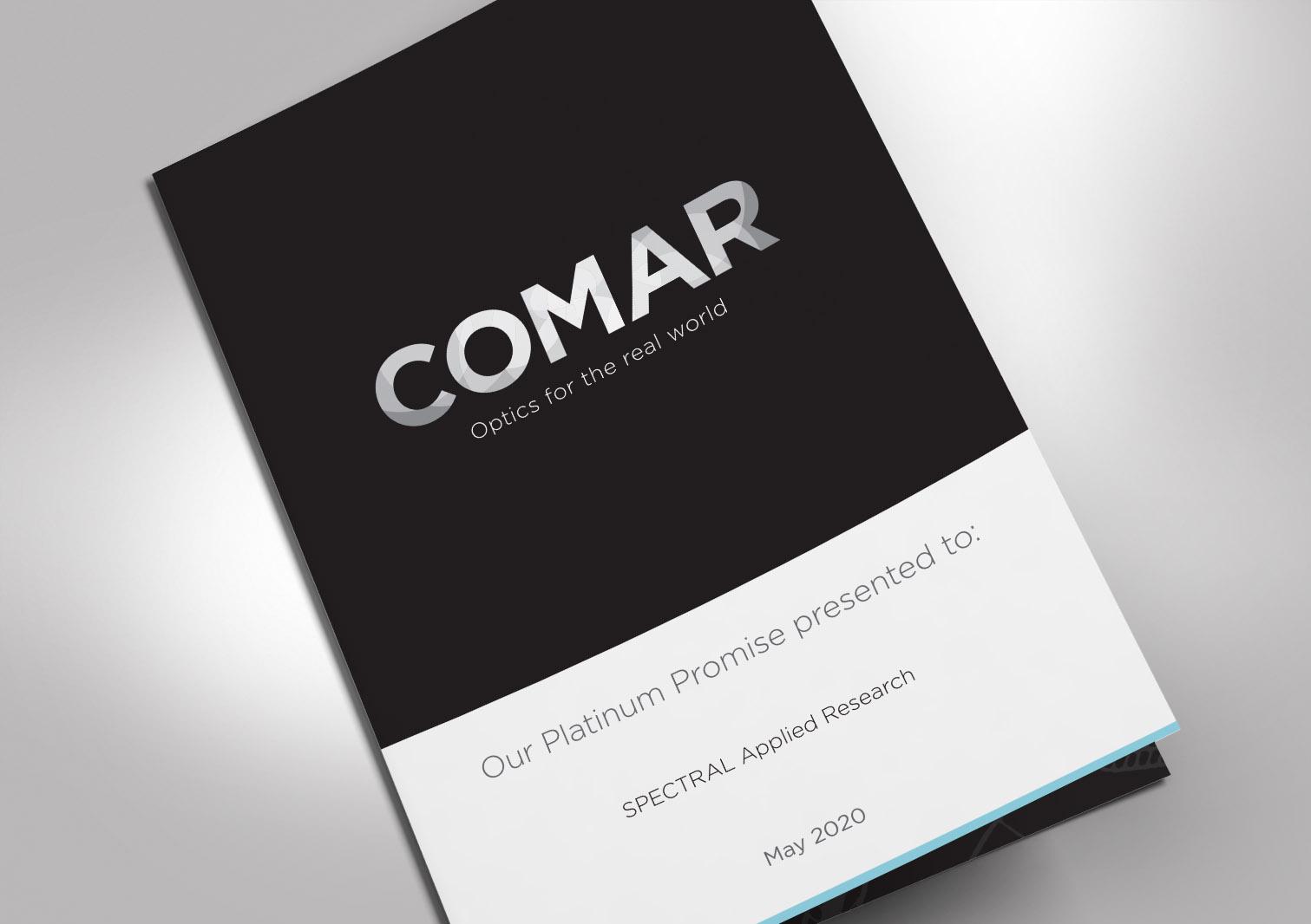 Comar Optics Limited - Platinum Promise - Proposal Cover