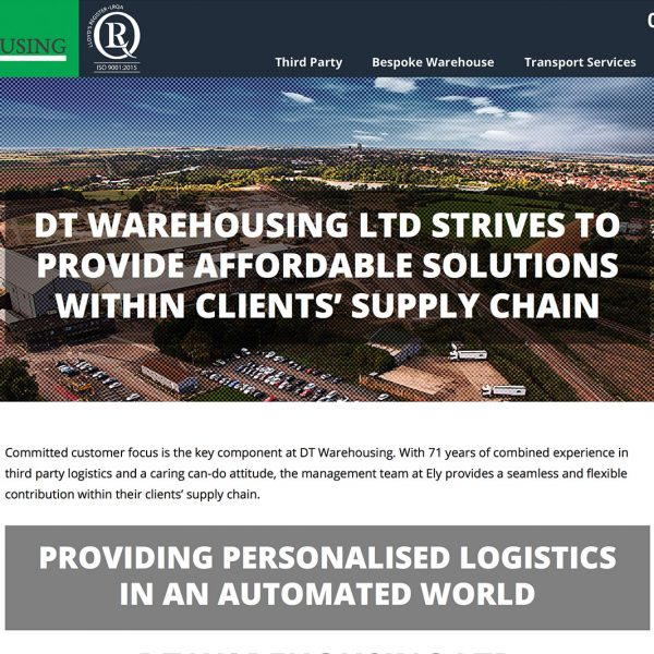 DT Warehousing Website