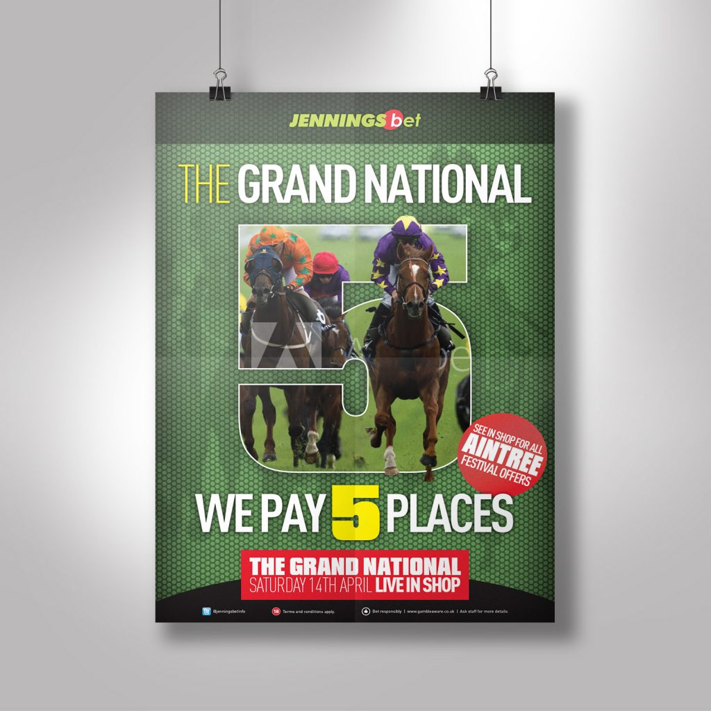 Jennings Bet A1 The Grand National Poster