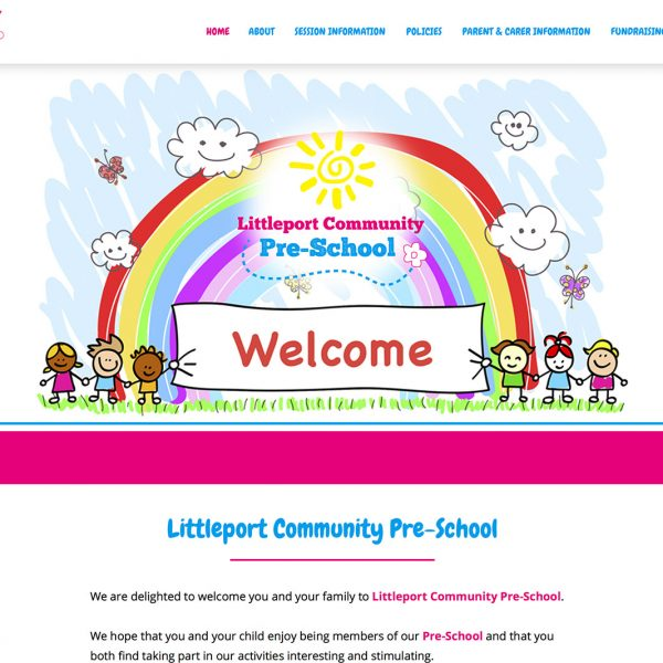 Littleport Community Pre-School Website