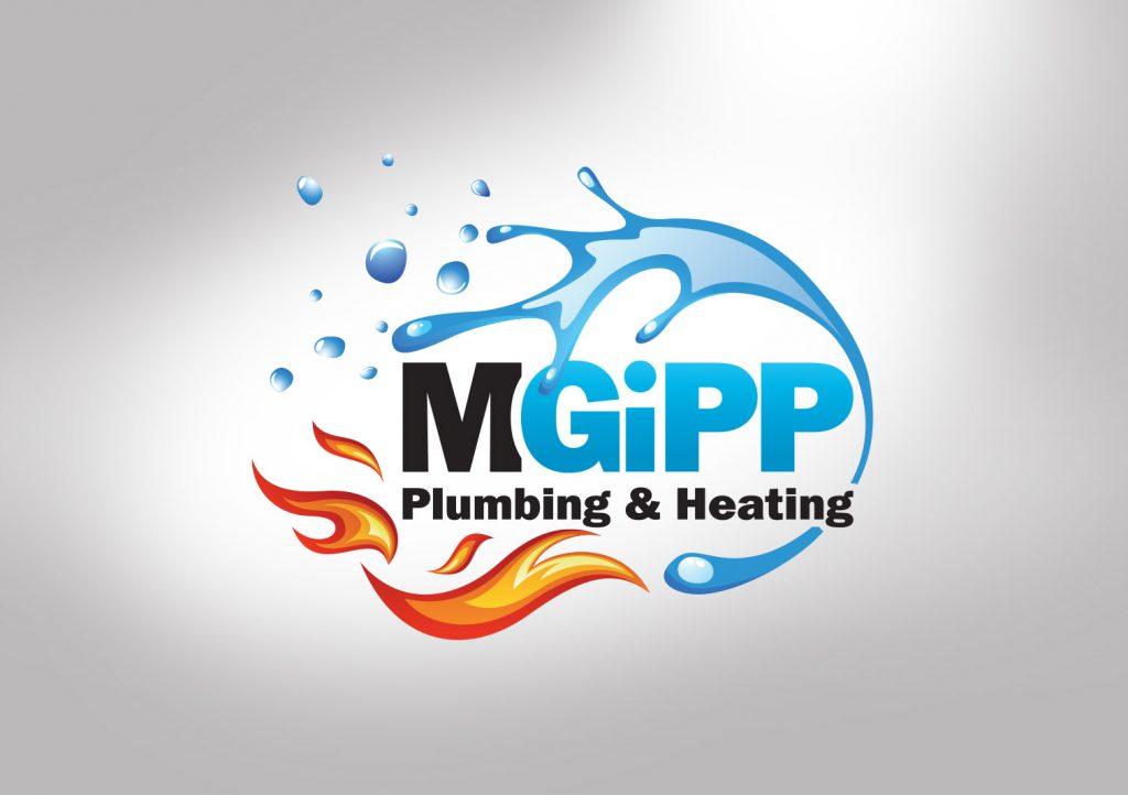 M Gipp Plumbing and Heating Logo