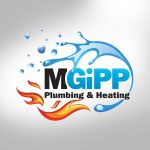 M Gipp Plumbing and Heating Logo