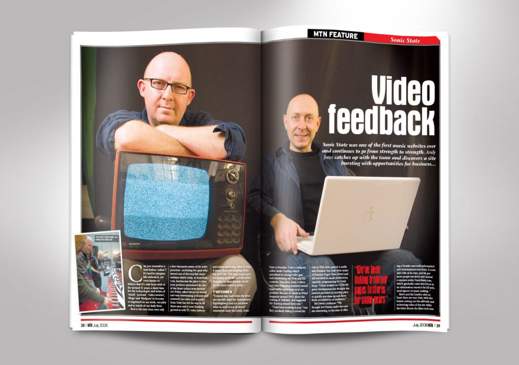 Music Trade News Magazine Inside Pages 1 and 2