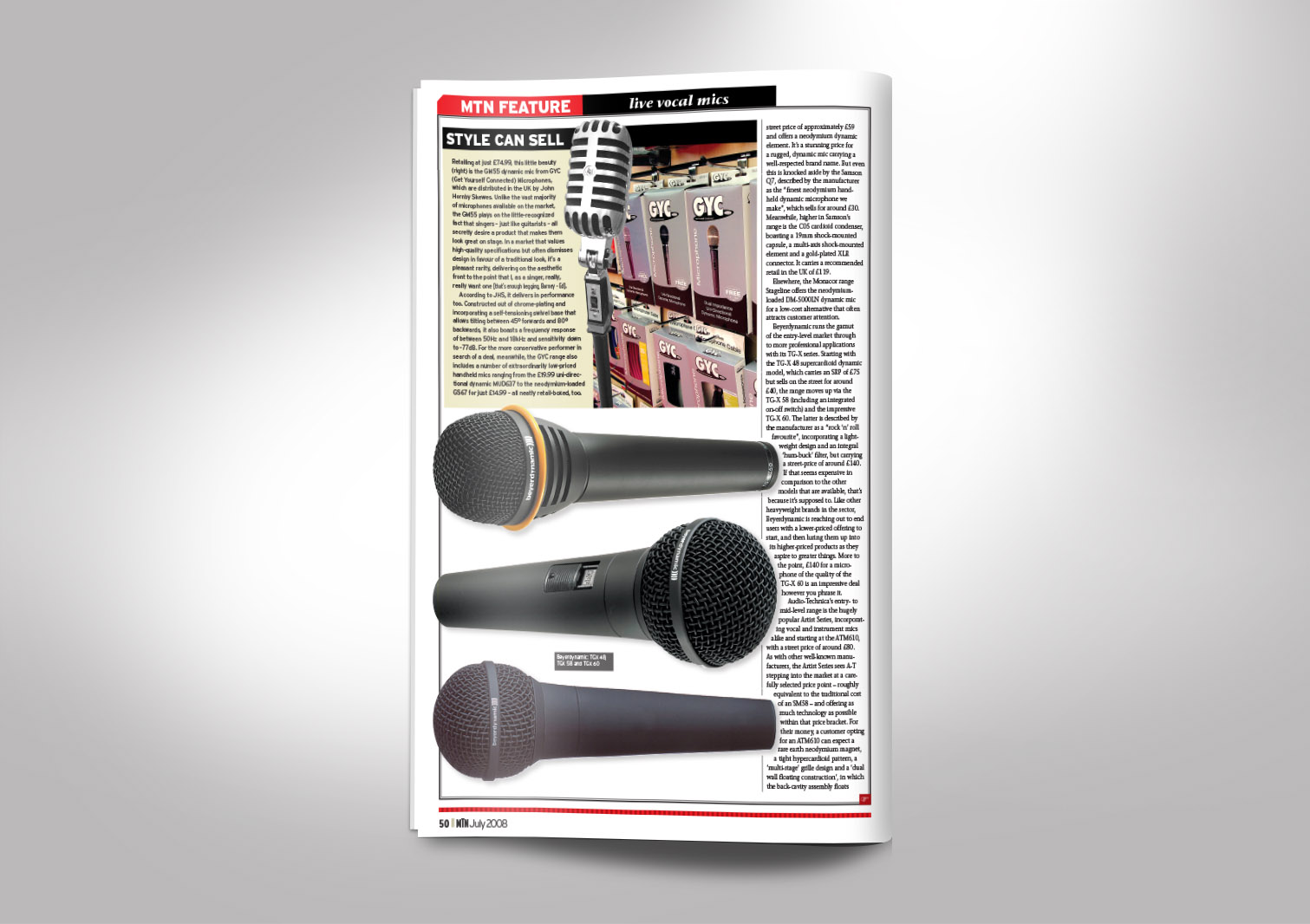 Music Trade News Magazine Inside Pages 10