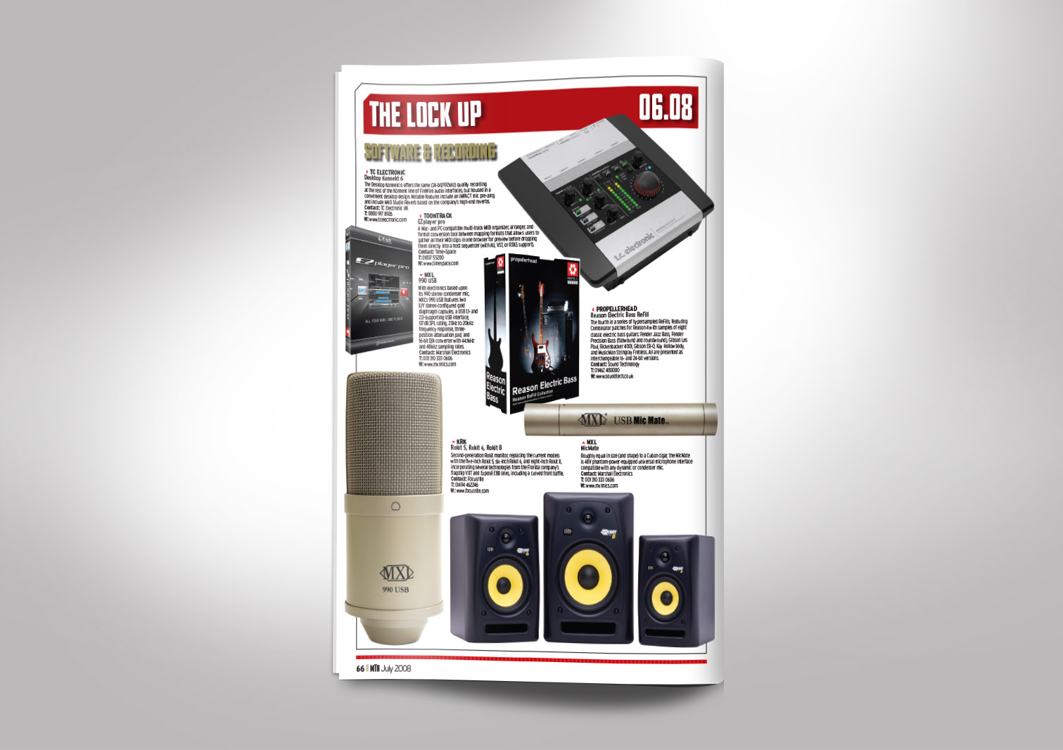 Music Trade News Magazine Inside Pages 14
