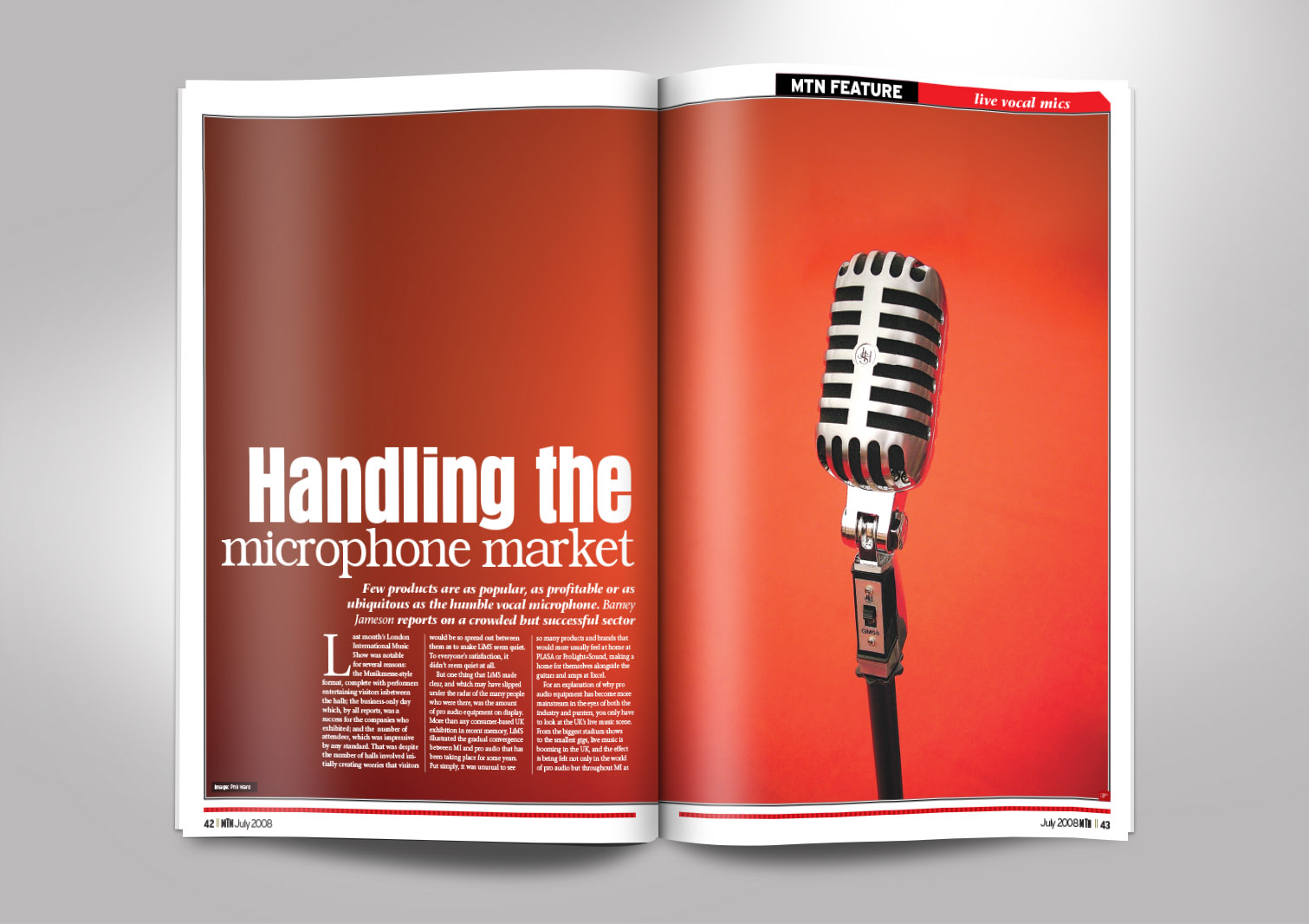 Music Trade News Magazine Inside Pages 4 and 5