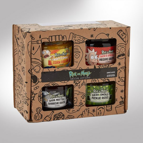 Rick and Morty Survival Rations Gift Box