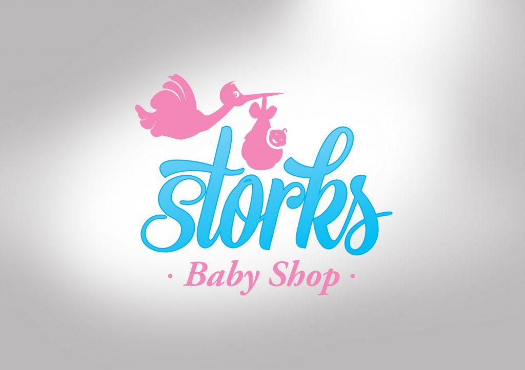 Storks Baby Shop Logo