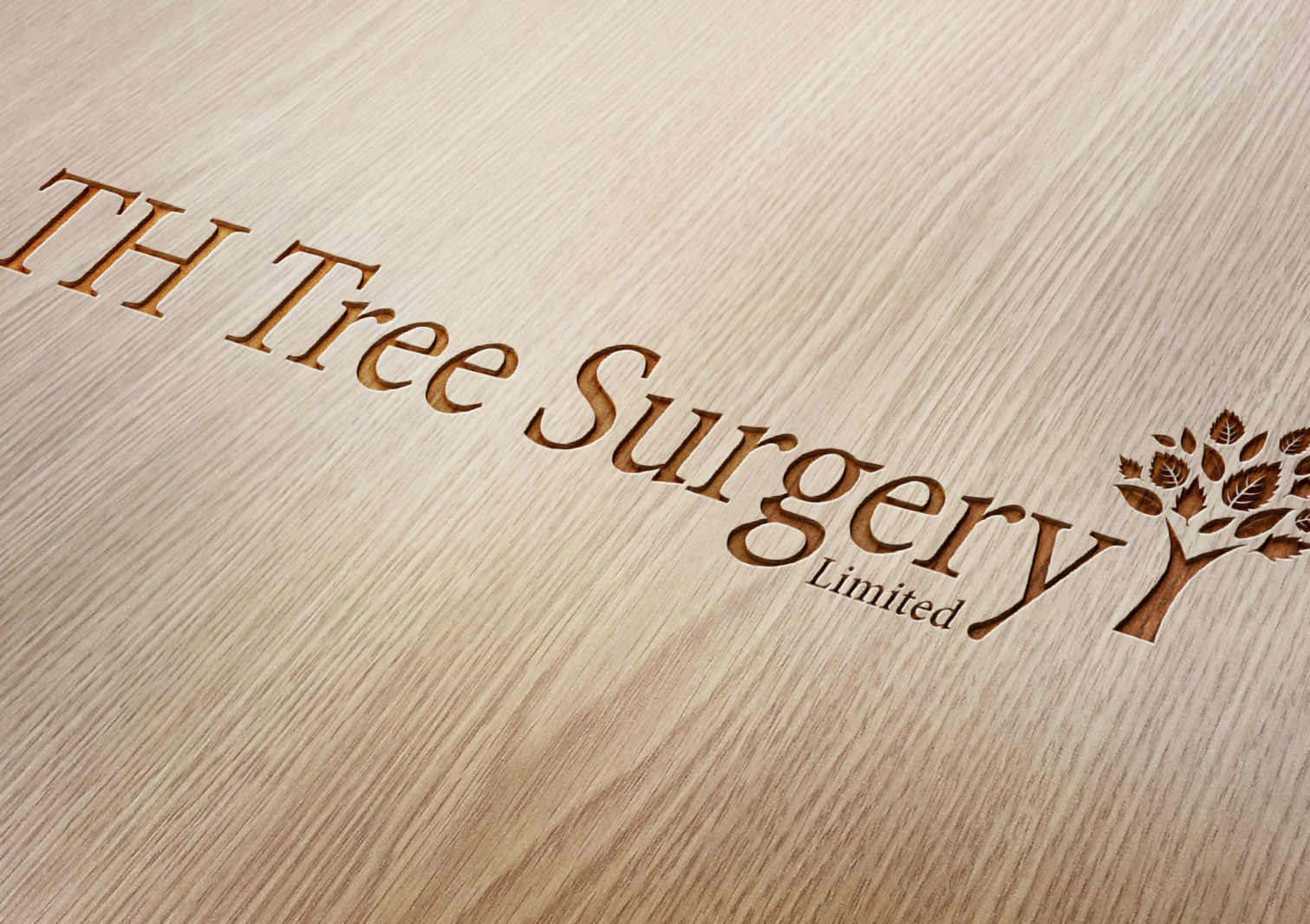 TH Tree Surgery Limited Logo