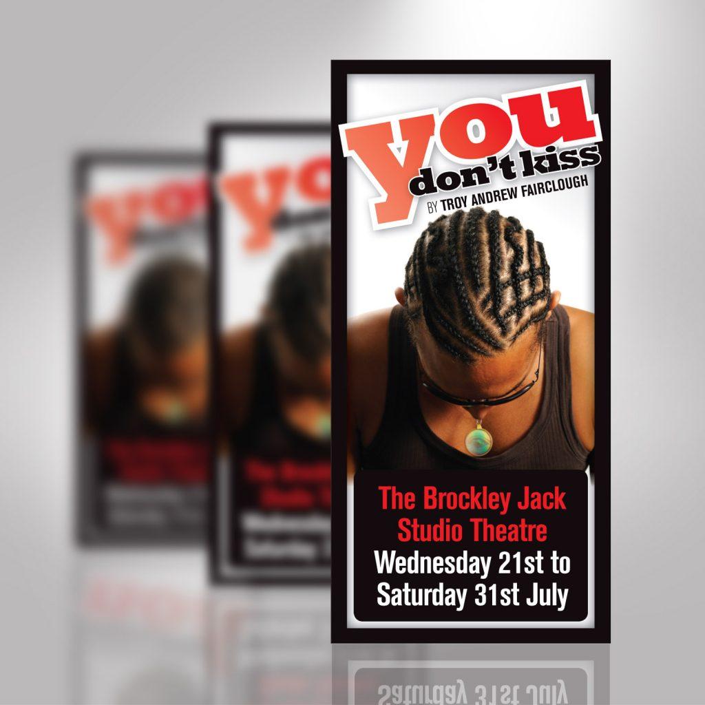 The Brockley Jack Studio Theatre Flyer Leaflet Front