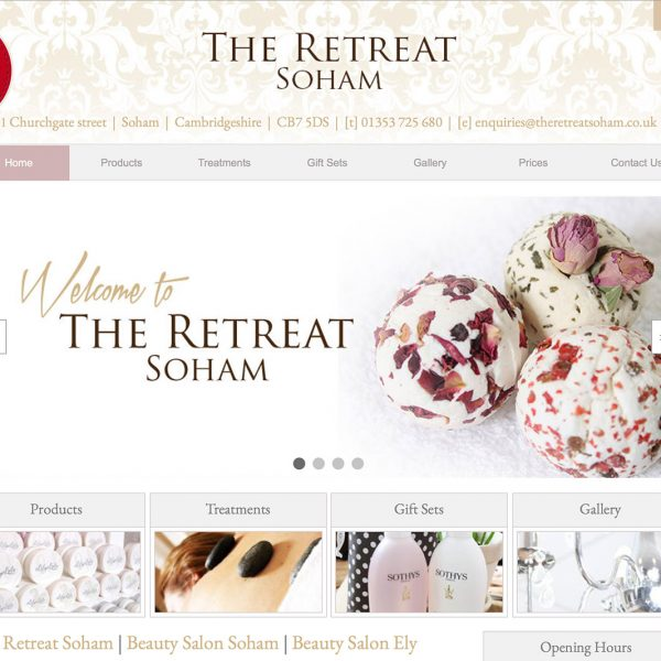 The Retreat Soham Website